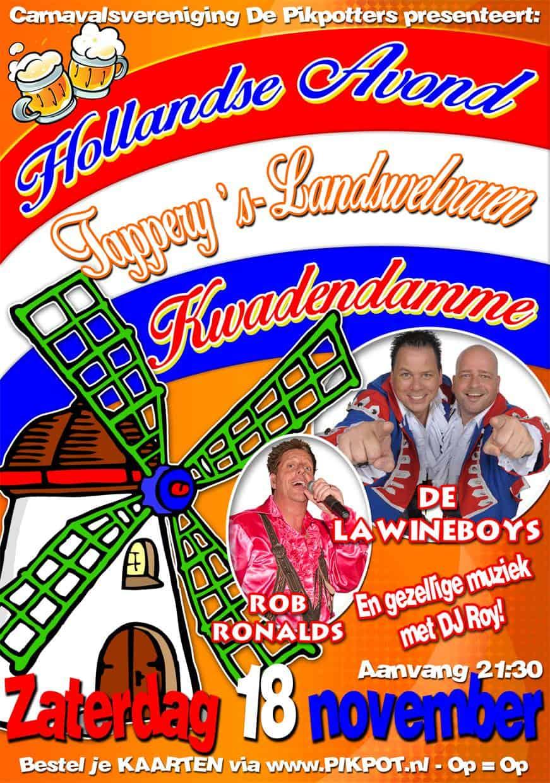 Hollandse avond @ Tapperij 's Lands Welvaren; Kwadendammme