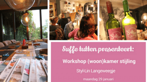 Workshop (woon)kamer stijling @ Stijl-Lin | Kwadendamme | Zeeland | Nederland