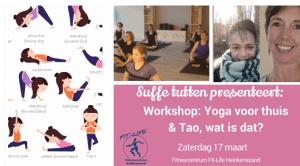 Workshop: Yoga voor thuis en Tao, wat is dit? @ Fitnesscentrum Fit-Life Heinkenszand | Heinkenszand | Zeeland | Nederland