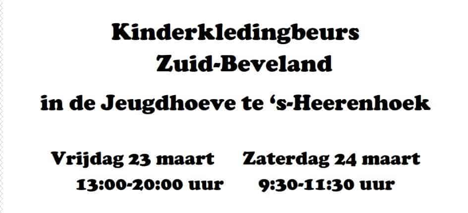 Kinderkledingbeurs Zuid-Beveland @ De Jeugdhoeve | 's-Heerenhoek | Zeeland | Nederland