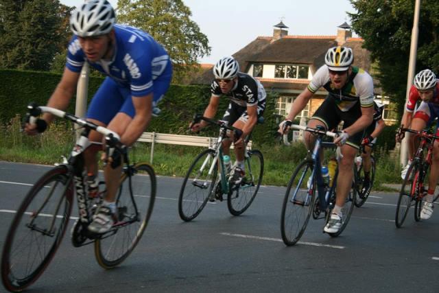 Finish ZLM Tour tweede etappe