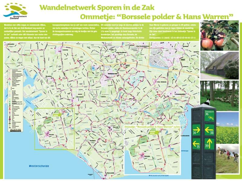 Fietsroute Sporen van Water - Landschapspark Borsele