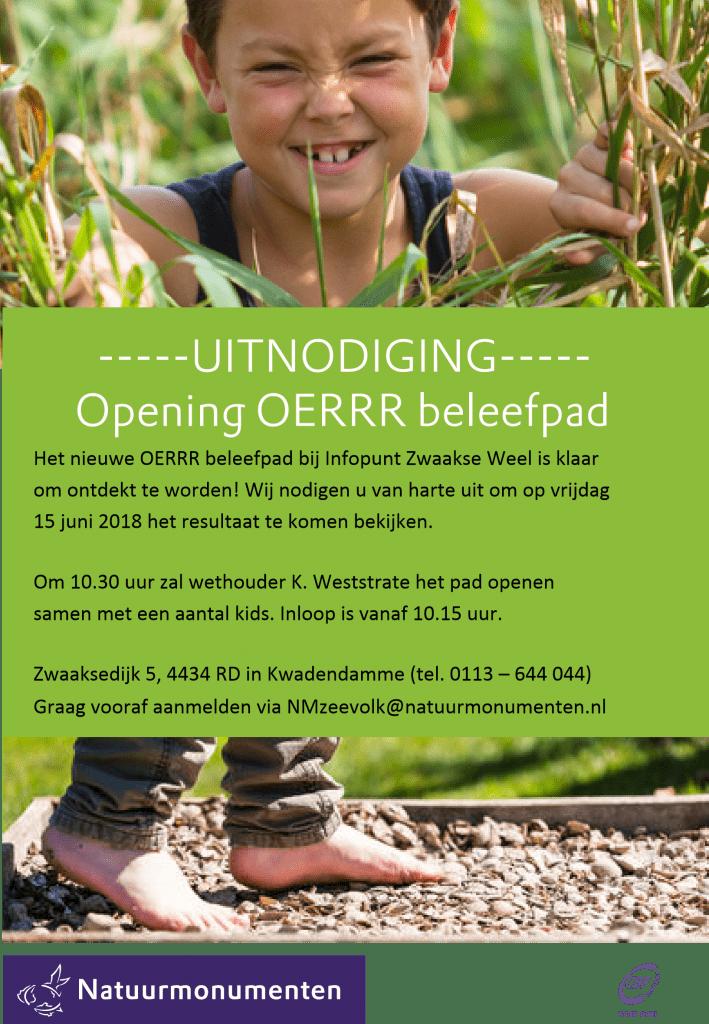 Opening Oerrr beleefpad @ Natuurmonumenten Zwaakse Weel | Kwadendamme | Zeeland | Nederland