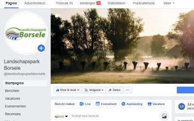 Landschapsparkreporters actief en filmpje in de maak
