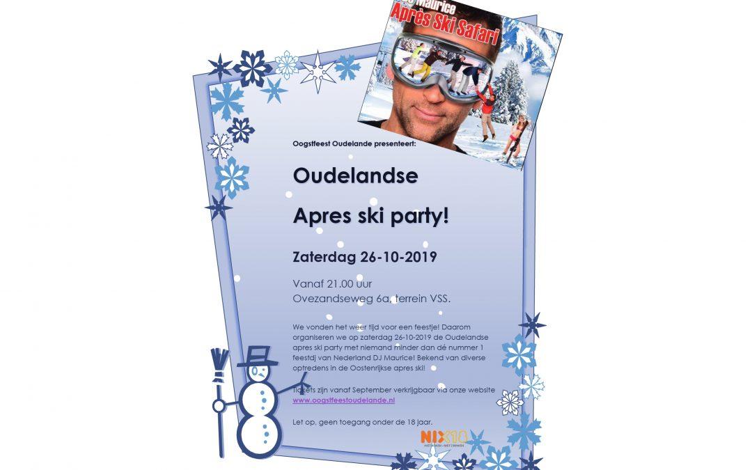 Oudelandse aprés ski party met feest DJ Maurice