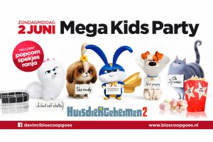 Mega Kids Party @ Davinci Cinema Goes | Goes | Zeeland | Nederland