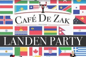 Landen Party @ Café de Zak | Ovezande | Zeeland | Nederland